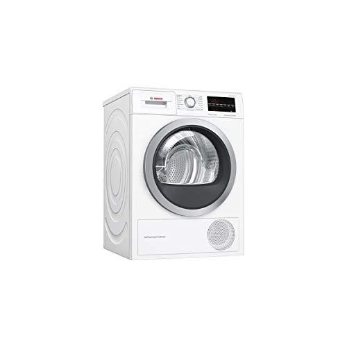 Bosch Serie 6 WTW85460FF sèche-linge Autonome Charge avant Blanc 8 kg A++ - Sèche-linge (Autonome, Charge avant, Pompe à chaleur, Blanc, Boutons, Rotatif, Droite)
