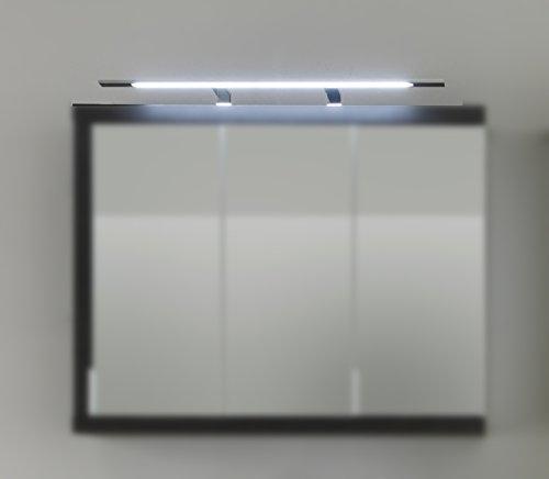 1100-226-00 Bad Aufsatzleuchte und Schalter-/Steckdosenbox für Spiegelschrank