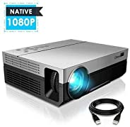UNIC T26K Android Full HD Projector Native 1920*1080P 5500 Lumens Video LED LCD Home Cinema Theater HDMI VGA USB TV T26 Beam