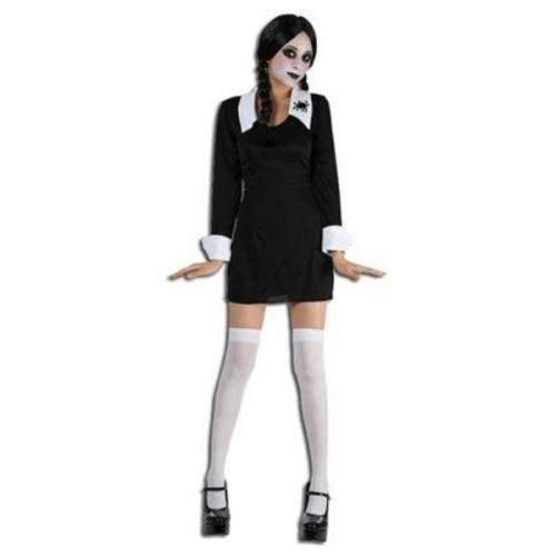 Wednesday Adams family Kostüm Fancy Dress Costume Karneval Halloween