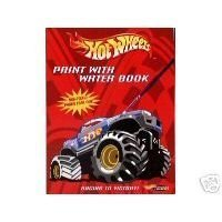 Hot Wheels Paint with Water Book - Racing To Victory by Hot Wheels