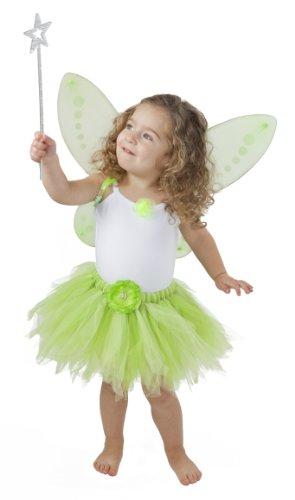 To Hearts 2 Tinkerbell Kostüm Kleinkind Tinkerbelle Birthday Party und verkleiden (3-5 - Kleinkind Mädchen Disney Kostüm