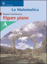 La matematica. Figure piane. Modulo A-B. Per la Scuola media