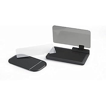 KKmoon Voiture HUD Navigation GPS Support Projecteur de Réflexion Téléphone Portable Grand écran