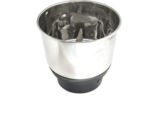 Sky Steel Mixer Chutney with Aluminium Bees (Black, 400 ml)