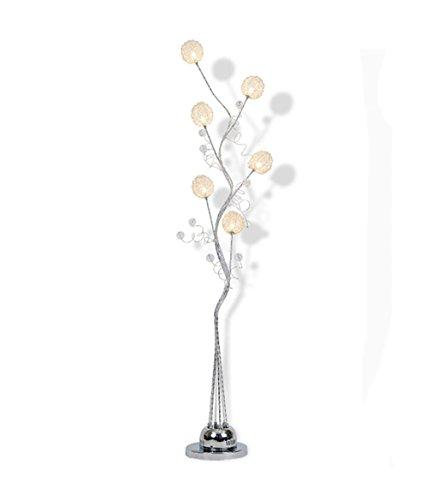 Stehlampen Stehleuchte Moderne kreative LED Stehleuchte Wohnzimmer Schlafzimmer vertikale Couchtisch Aluminium Stehleuchte (145 * 20cm) Stehlampe Schlafzimmer - Moderne Deckenfluter Ist