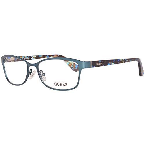 GUEX5 Damen Brillengestelle Brille GU2548 52088, Türkis, 52