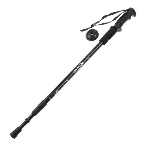 Docooler Trekking Pole, Telescopico Regolabile AntiShock Trekking Escursionismo Bastone + Bussola,