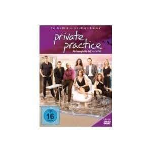 Private Practice - Intégrale Saison 3 [DVD] Import langue Francaise, Region 2