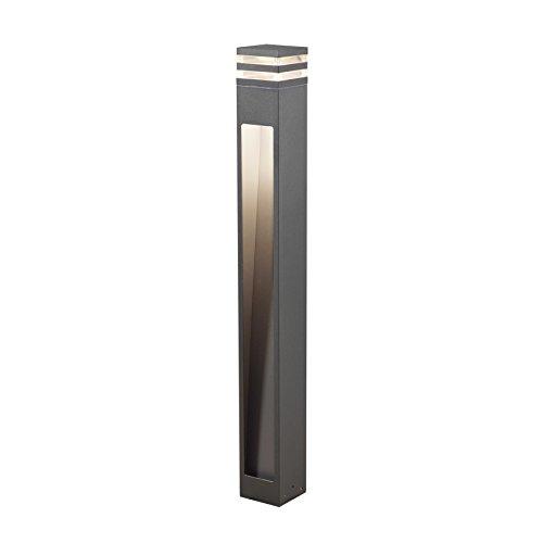 Gnosjö Konstsmide Wegeleuchten Aluminium Integriert, anthrazit 11 x 11 x 100 cm