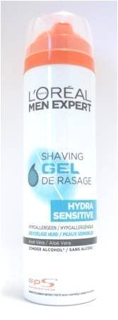 Loreal Men Expert Hydra Sensitive Shaving Gel 200ml with Ayur Product in Combo