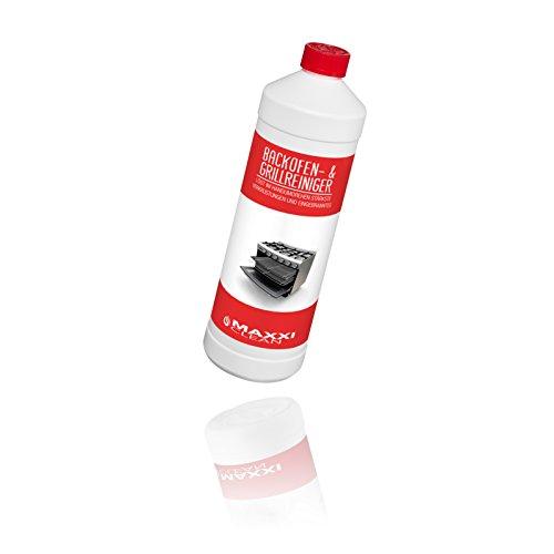Maxxi Clean Backofen- und Grillreiniger 1000 ml Backofenreiniger Gel Paste   löst einfach hartnäckigste Verkrustungen, reinigt selbsttätig - ohne aufheizen - ohne Gerüche