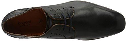 Bugatti 311101101000, Derby Homme Noir (Schwarz 1000)
