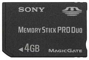 Sony - Memory Stick Pro Duo Speicherkarte (4GB) für PSP