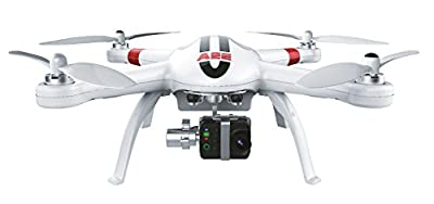 AEE Technology AP11 GPS Drone Quadcopter 3-Axis Gimbal (White) with 4K Camera!