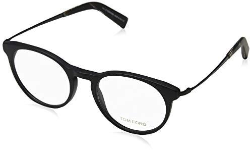 Tom Ford Herren Ft5383 Brillengestelle, Schwarz (NERO OPACO), 51