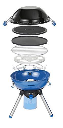 Campingaz Party Grill 400 CV Camping Grill, Campingkocher, 2.000 Watt Mini Grill, mit Gitterrost und wendbarer Grillplatte, Betrieb mit CV 470 Gaskartusche, Outdoor Kocher für Camping oder Festivals
