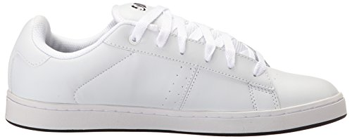 DVS Shoes Revival 2, Chaussures de Skateboard Homme Blanc (White Leather 111)