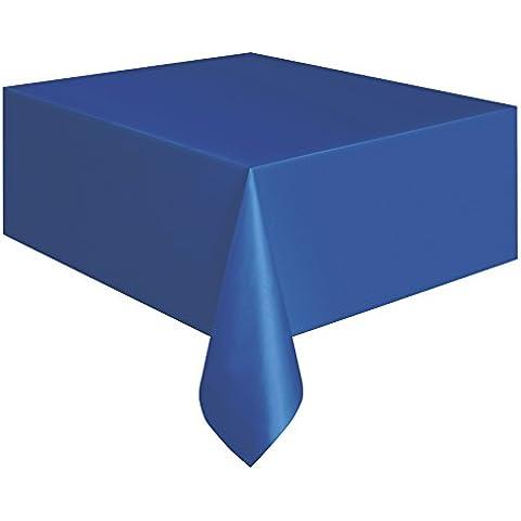 Partido Ênico 9 x 4,5 pies Mantel Plástico (Royal Blue)