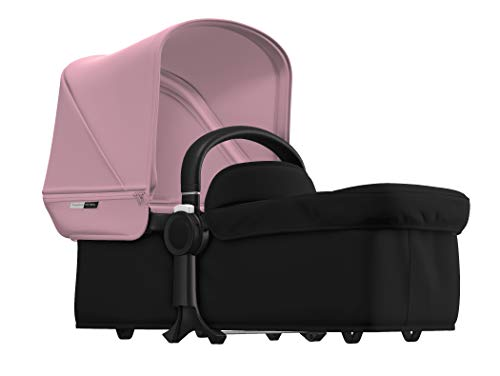 Bugaboo Donkey Kit Conversione gemellare, nero/soft pink
