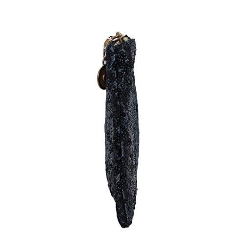 Multi-mo, Borsetta da polso donna Nero nero nero