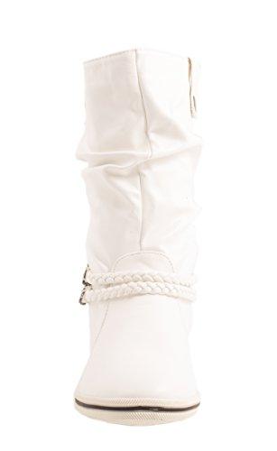 Elara , Bottes à enfiler femme Blanc - Blanc