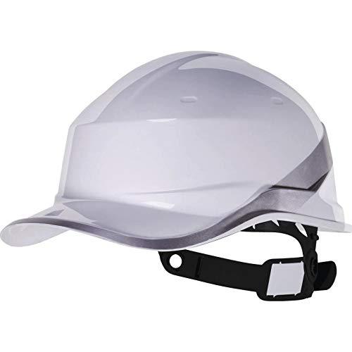 """Delta Plus DIAM5 """"Baseball Cap"""" Form Schutzhelm, Weiß, Einheitsgröße"""