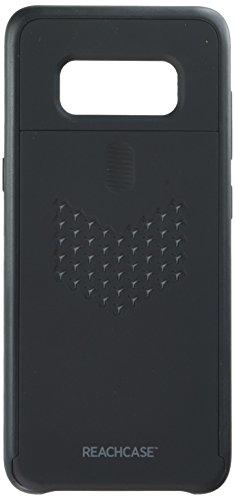 erreichen von Brink Fall Handy Fall für Samsung Galaxy S8-AT & T/T-Mobile-Schwarz Gitter