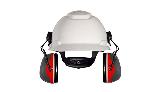 3M Kapselgehörschutz X3P3E, Helmbefestigung, SNR 32 dB