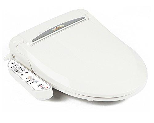 Bidet Wc-sitz-runde (Quoss Q5300 Elektronische WC, Bidet Wasserhahn Washlet, Rund)