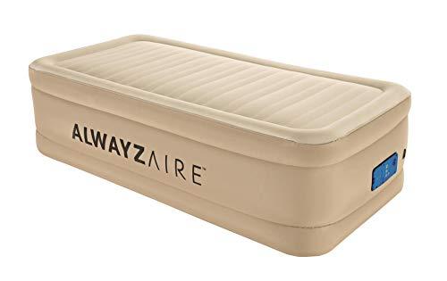 Bestway AlwayzAire Einzelbett Luftbett selbstaufblasend mit eingebauter Elektropumpe, 191x97x51 cm