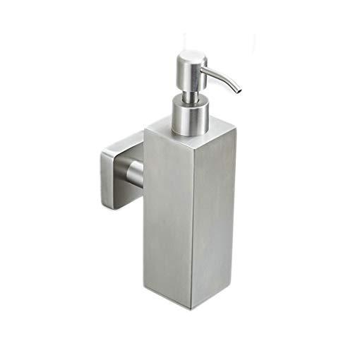 Einfache Installation 304 Edelstahl Seifenspender Händedesinfektionsmittel Flaschenpresse Wand Hotel Duschgel Schaumflasche 200 ml Einfach zu erreichen (Color : A) -