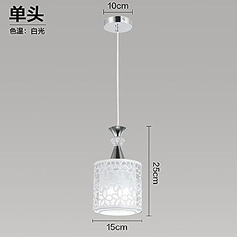 La lumière LED Plafond Trois Lounge/salle à manger, rotatives + Blanc