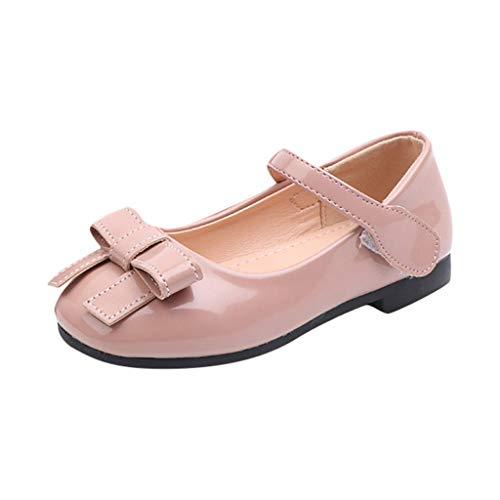 Vovotrade_scarpa Scarpe per Neonato Maschio 312 Neonati Neonati Danza Scarpe Singole Scarpe da Ginnastica Princess Bowknot