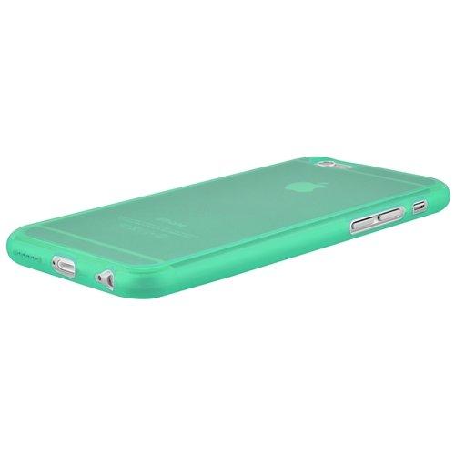 ChannelExpert transparent klar TPU Hülle Handyschale Handytasche Handyhülle Etui Cover Case für Apple iPhone 6 / 6S 4.7 Neongrün