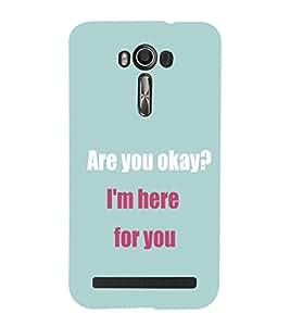 EPICCASE Care case Mobile Back Case Cover For Asus Zenfone 2 Laser ZE550KL (Designer Case)