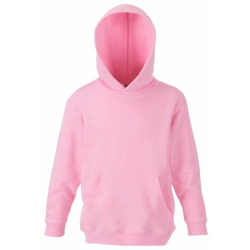 Fruit Of The Loom Pullover mit Kapuze für Kinder (9-11) (Pink) 9/11,Pink (10 Hoodie)