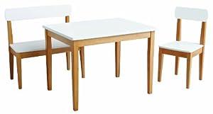 roba-kids - Set de mesa de juegos silla y banco, multicolor (Roba Baumann 50810)