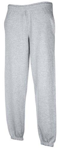 Freizeithose-mit-elastischem-Beinabschluss-FarbeHeather-GreyGreXL-XLHeather-Grey