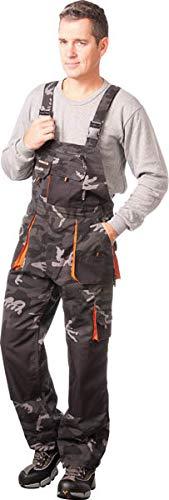 Arbeits Latzhose, camouflage, Terratrend Job, Gr.44-64, Größe:50