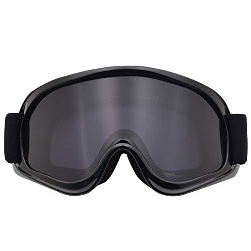 SEN Gafas de Moto Gafas todoterreno Gafas de Casco Gafas de Moto Rider Gris