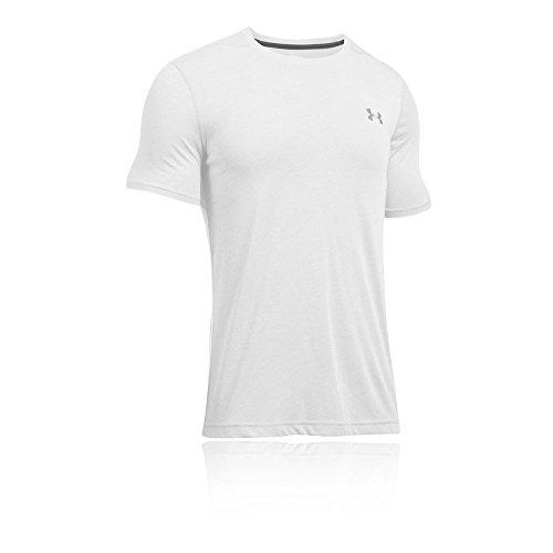 Under Armour Herren Ua Tech Ss Tee Fitness-T-Shirts & Tanks weiß