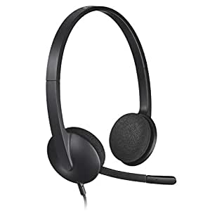 Logitech H340 USB Headset for PC and Mac