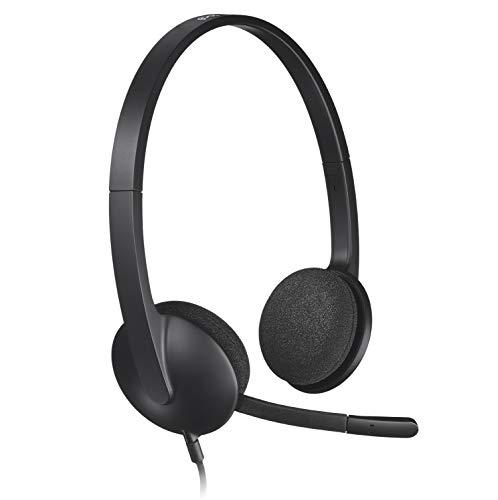 Logitech H340 Headset USB schwarz (Logitech Usb H390 Headset)