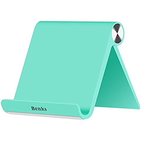 Benks Flexible Universal teléfono móvil soporte, Mobil Teléfono portátil plegable soporte ajustable soporte para pantalla de sobremesa para iPhone/iPad
