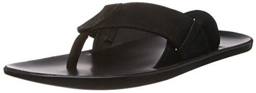 cdf4d86eb5a700 Mochi 16-7506 Mens Black Flip Flops Thong Sandals 7 Uk 16 7506- Price in  India