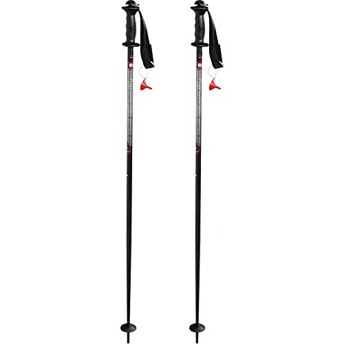 Komperdell 1449402-02 fixlänge Skistöcke Alpine Schnapsstock Grey Black - 125 cm