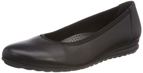 Gabor Shoes Damen Comfort Sport Geschlossene Ballerinas, (Schwarz), 40 EU