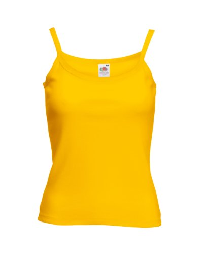 Fruit of the Loom - Sweat à capuche -  Femme x-large Jaune - Tournesol