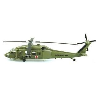 Easy Model 37018 1:72-UH-60A Blackhawk-508th Medevac Air Ambu Pre Built Model, Various